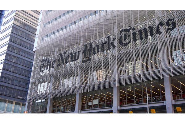 《纽约时报》发表专文:《川普打的一场胜仗》。(网络照片)