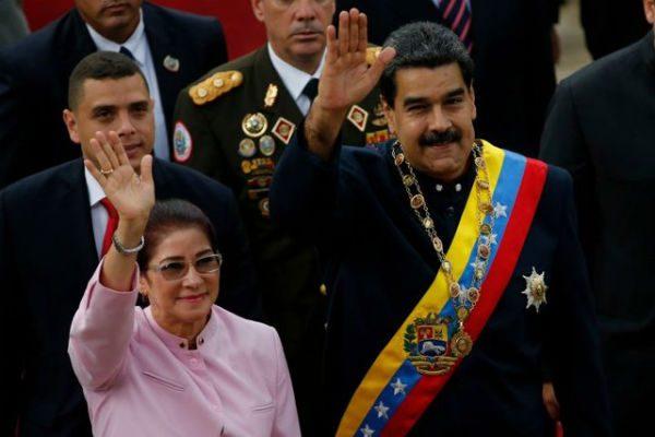 美国总统川普8月11日警告委内瑞拉,不排除采取军事干预。(图片:美联社)