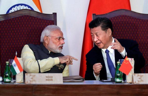 中国国家主席习近平与印度总理莫迪(图源:AP)