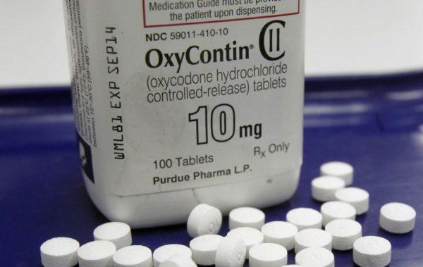 用于镇痛的盐酸羟考酮控释片剂