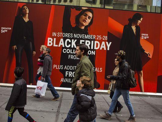 黑色星期五(图片来源: Andres Kudacki, AP)