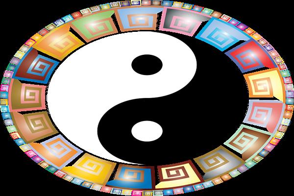 太极图 (图片来源:Pixabay)
