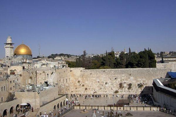 耶路撒冷一隅(中央社)