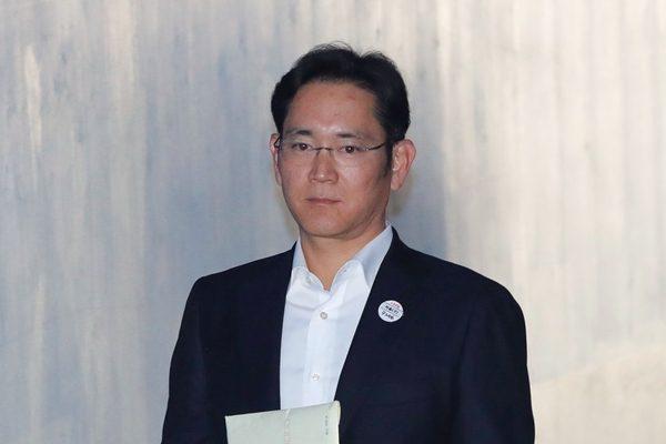 三星電子副會長李在鎔。(AP Photo/Lee Jin-man)