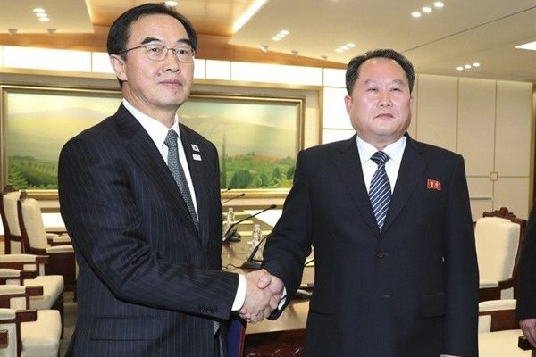 南北韩九日举行部长级会谈(美联社)