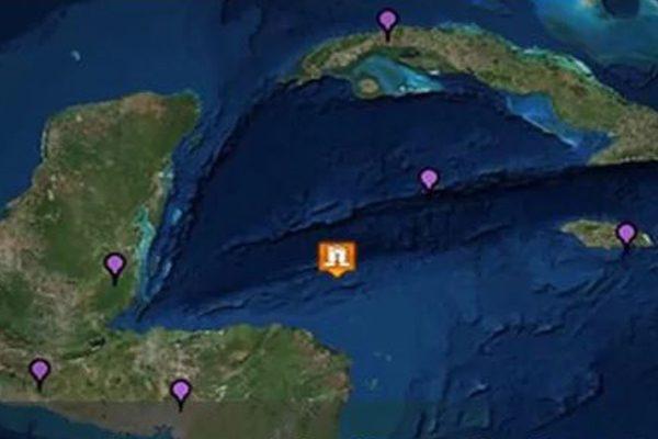 宏都拉斯北部海域台湾时间1月10日发生7.6强烈 (视频截图)