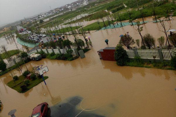河流洪灾(图片来源:维基百科Wikipedia)
