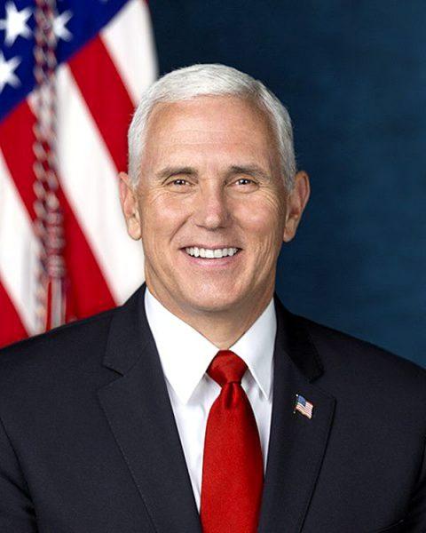 """现任美国副总统:迈克尔·理查德·""""迈克""""·彭斯 (图片:维基百科)"""