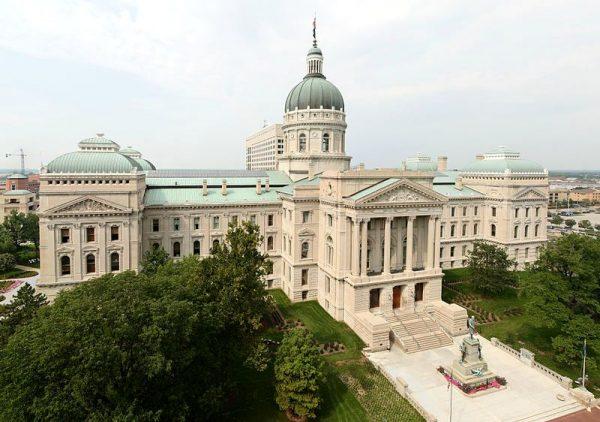 印第安纳州州长办公室所在地(图片:维基百科)