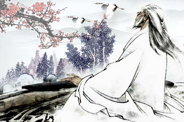 玄鹤的鸣叫声和琴声融为一体,在天际久久回荡(图片:希望之声合成)