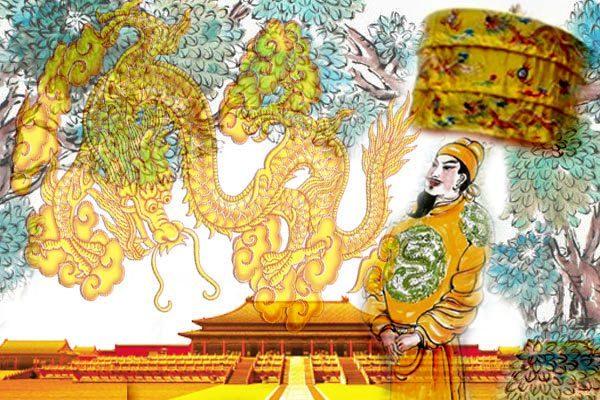 因此后来历代帝王出行时都带伞盖,除了吉祥用意,还是皇权的象征,代表荫庇天下黎民(图片:希望之声合成)