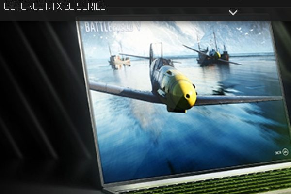 GeForce GPU RTX 20系列(圖片來源:網頁截圖webpage Screenshot)