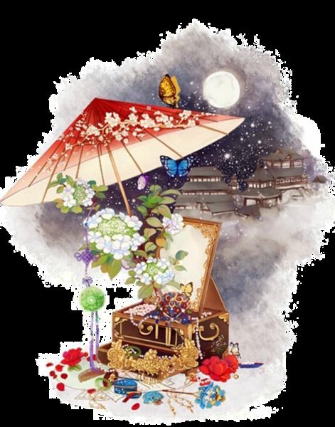 中国传统婚礼上,新娘出嫁下轿时,喜娘需为新娘撑起红色的油纸伞 (授权图片)