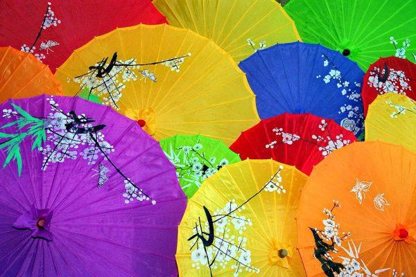 书画油纸伞(图片:pixabay)