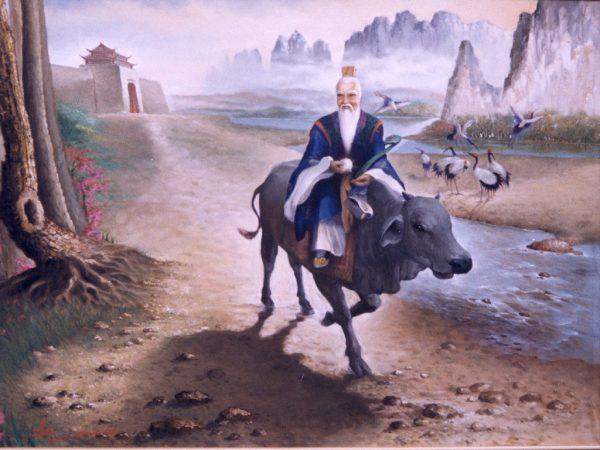 老子骑青牛过函谷关(图片,维基/widodo)