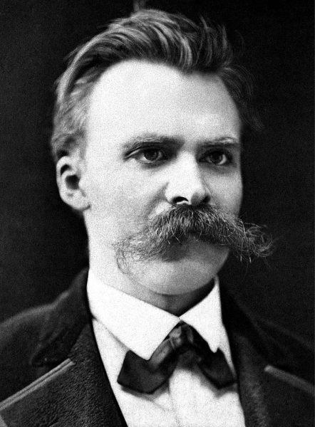 尼采 (图片来源:维基百科)