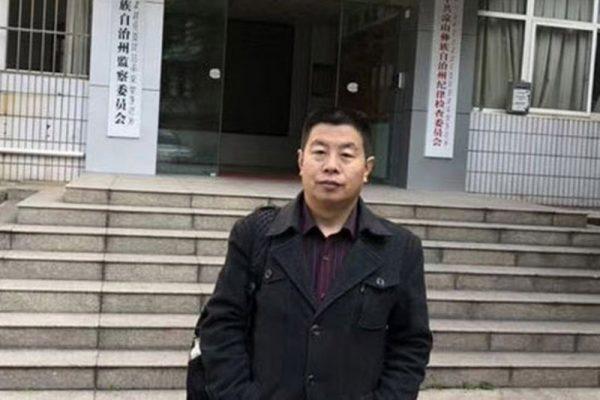 河北维权律师卢廷阁。(自由亚洲)