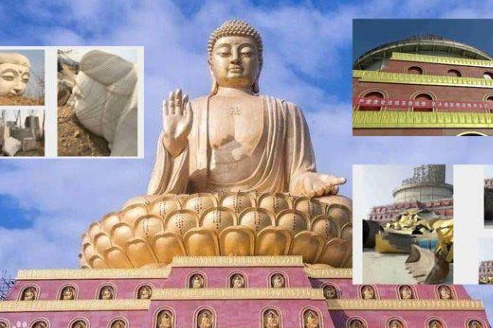 """世界最大铜坐佛像被毁 中共""""灭佛""""未间断"""