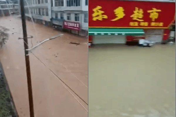 江西九堡洪灾后 食水严重短缺 空气充斥恶臭
