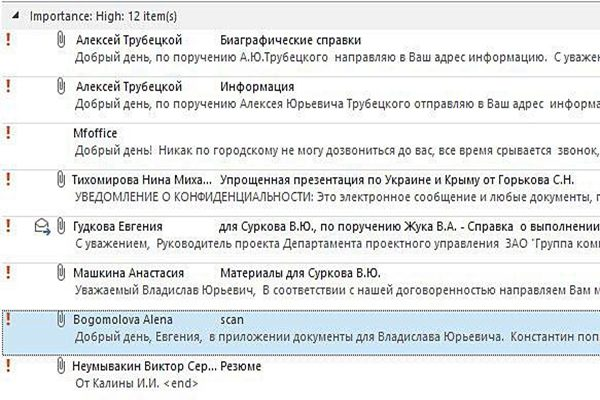 普京高级助手办公室电邮遭骇 现俄罗斯涉入乌克兰内战证据