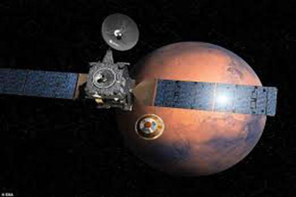 美发现疑似斯基亚帕雷利火星登陆器坠毁地点