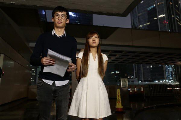 梁游二人司法复核将有结果 反港独集会被曝每人600车马费
