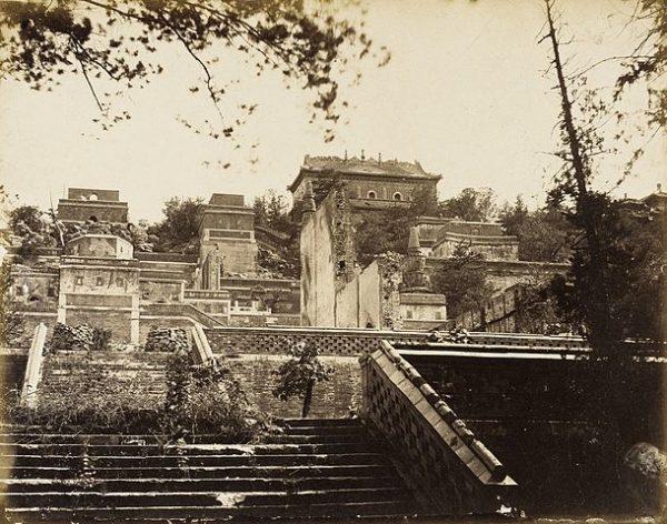 颐和园 (资料图片:wikimedia/Felice A. Beato意大利,1825-1908)