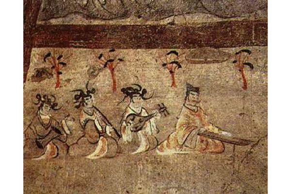 音乐 燕居行乐图 (资料图片:wikimedia)