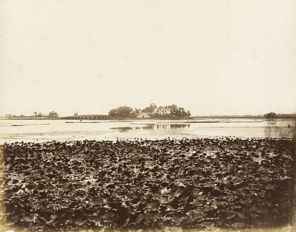 圆明园(资料图片:wikimedia/Felice A. Beato意大利,1825-1908)
