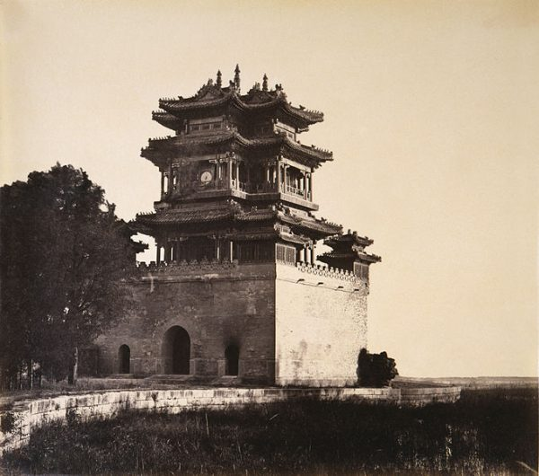 Yuanmingyuan before the burning, Beijing, 6–18 October, 1860, 1860 Albumen print Gift of Howard Corning ( Photo© 2007 Peabody Essex Museum. Phillips Library Collection/wikimedia)