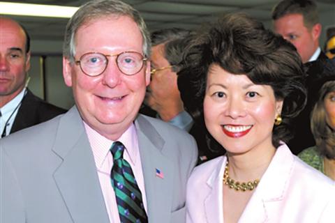 美国第一位入内阁的华裔女政治家,看赵小兰母亲的教女之道
