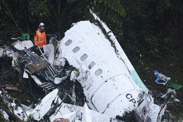 哥伦比亚: 燃油耗尽导致拉米亚班机坠机