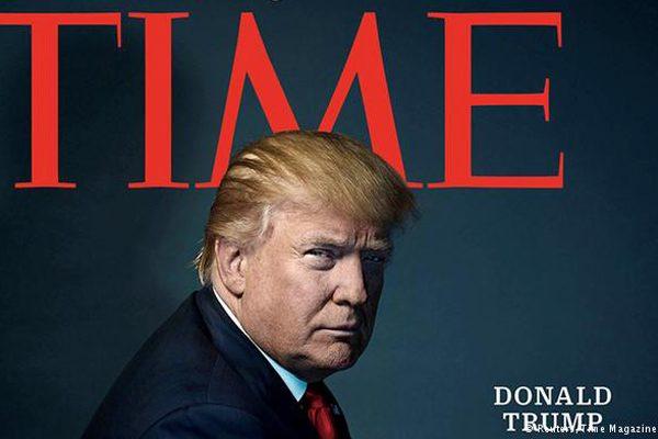 川普登《时代周刊》 成2016风云人物
