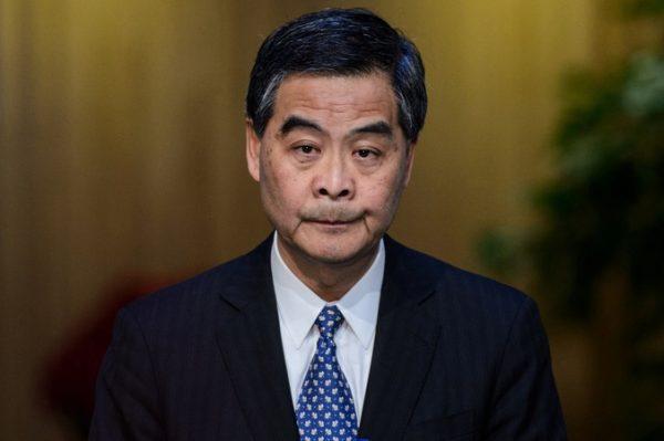 梁振英宣布放弃连任 程翔:肯定是听北京指令