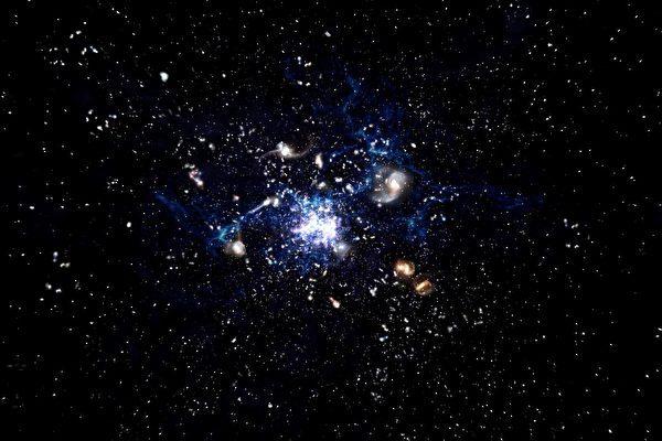 天文学家发现星系生长新方式:吞噬气体?!