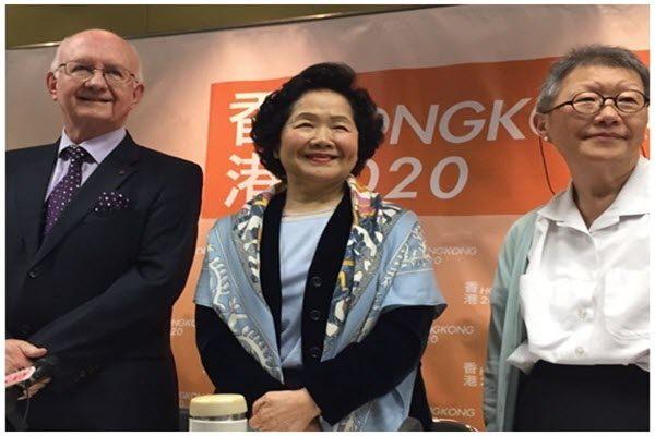 香港前政务司长陈方安生
