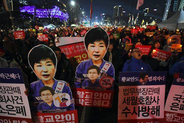 朴槿惠调整策略针动作频频 欲颠覆弹劾重掌大权