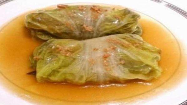 【梁厨美食】上汤素菜卷