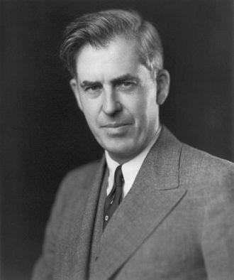 第33任美国副总统华莱士Henry A. Wallace (维基百科资料图片)