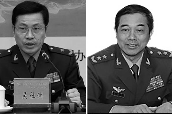 吴社洲(左)、朱福熙(右)(图片合成)
