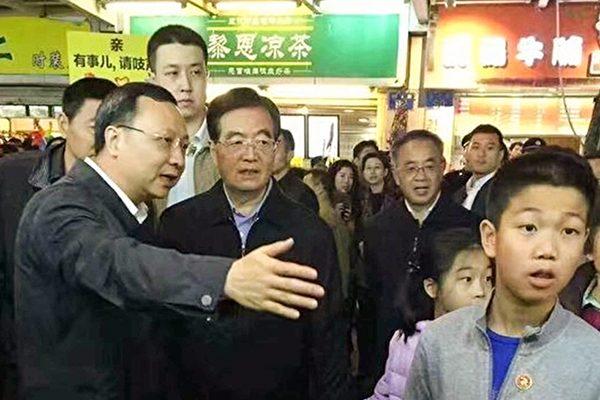 胡锦涛突然现身广州花市 由胡春华马兴瑞作陪 释放啥信号?