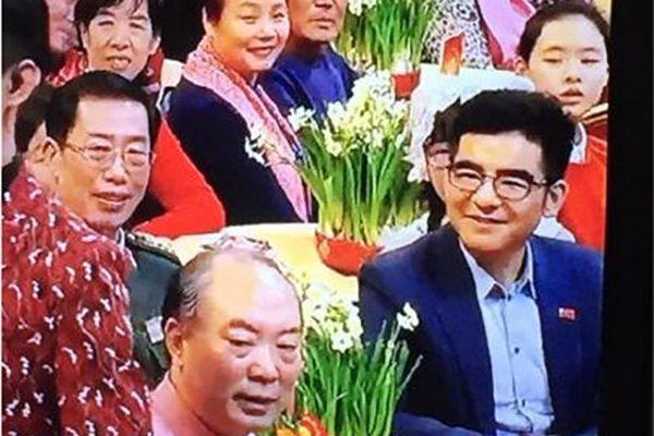 陈光标似在今年中共央视春晚中现身。(网络图片)