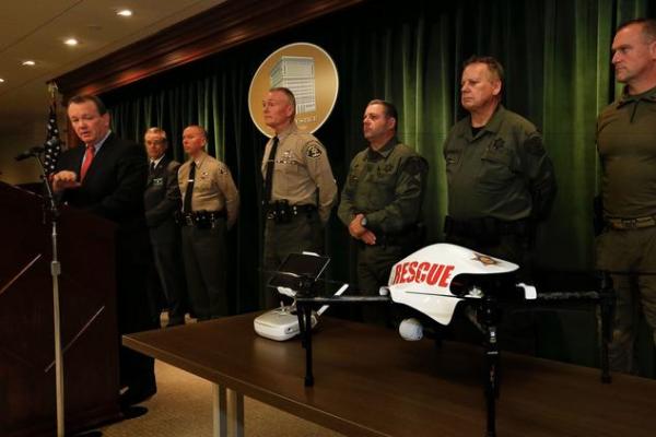 三年磨一剑 洛杉矶警用无人机本周上天