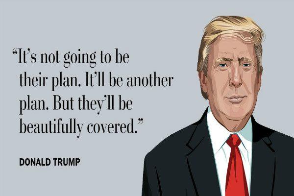川普:新健保法案将为每个美国人提供保险
