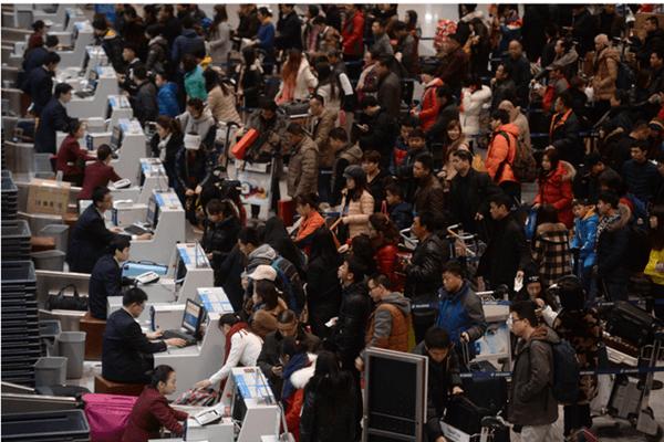 中国大陆春运大潮今启动 客运量预计30亿
