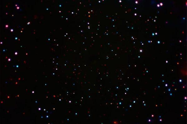 最新X-射线捕捉到无数黑洞 天文学家:超大面积前所未有