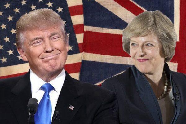 白宫:川普下周会见英国首相
