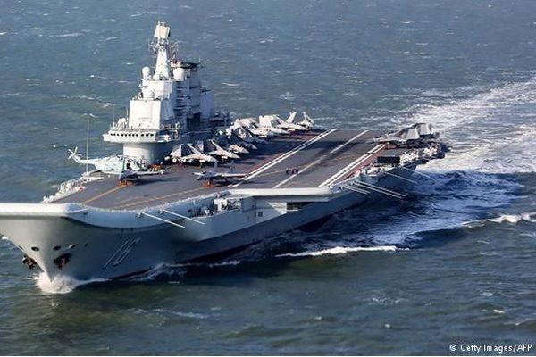 台湾军演模拟反击中共舰队入侵