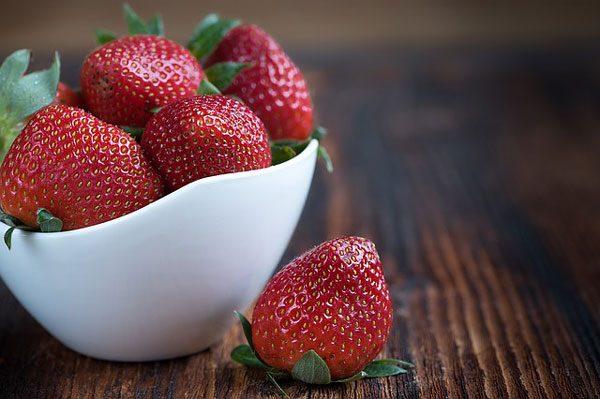 草莓清热解毒防过敏(资料图片:pixabay)