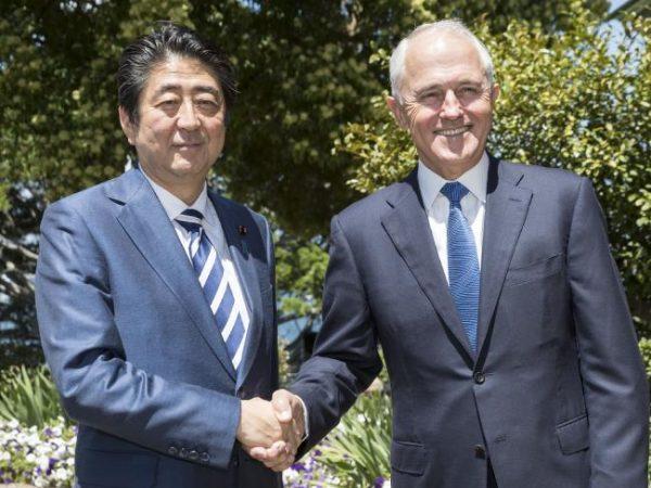 日本与澳大利亚加强跨太平洋军事合作